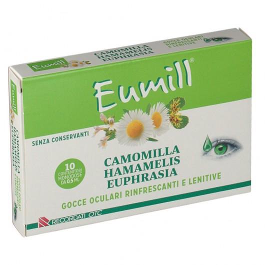 Eumill Camomilla Hamamelis Euphrasia 10x0 5ml